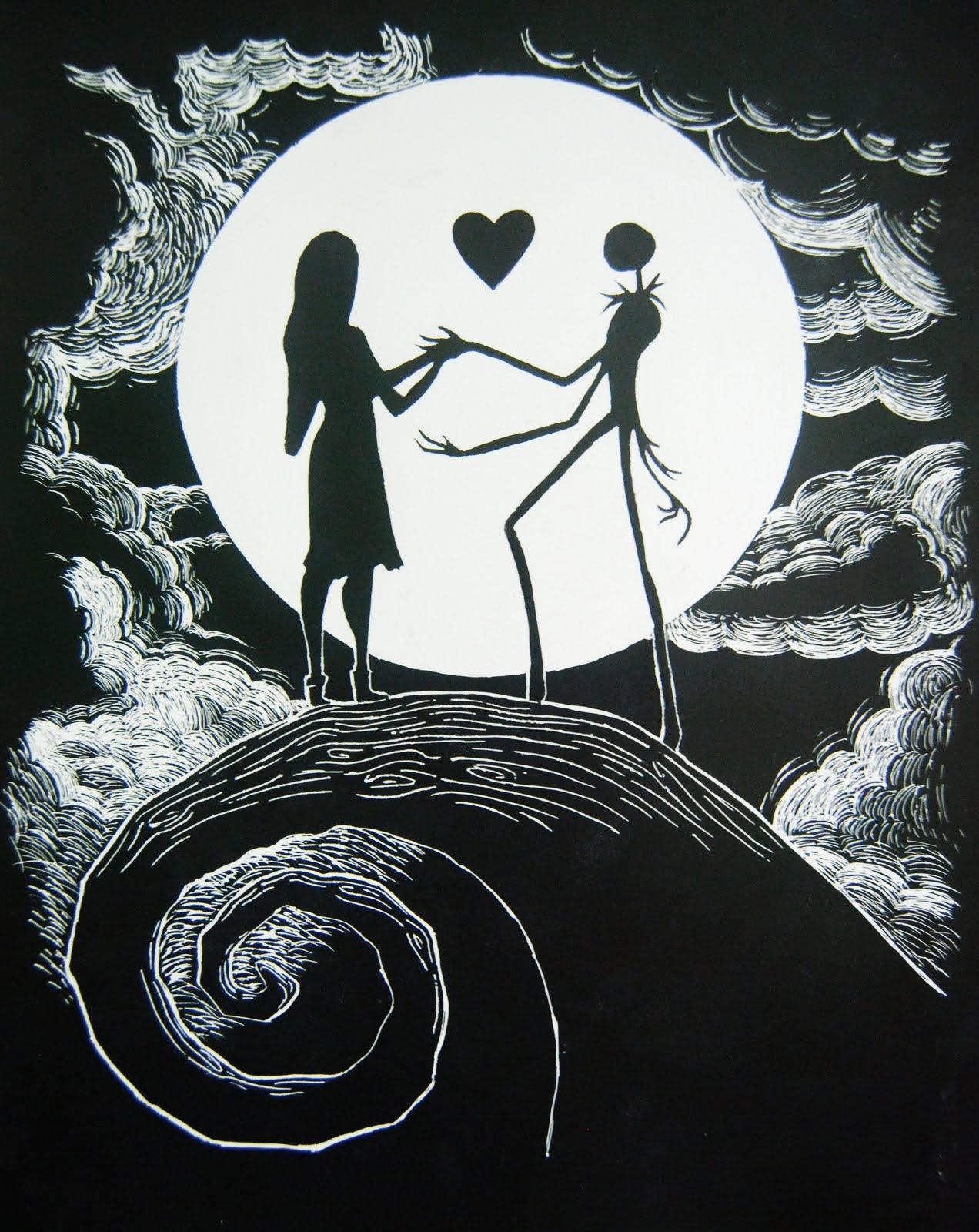 Jack And Sally Drawings : sally, drawings, Sally, Nightmare, Drawing, Image