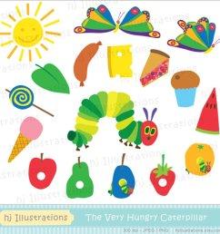 very hungry caterpillar clip art n9 [ 950 x 950 Pixel ]