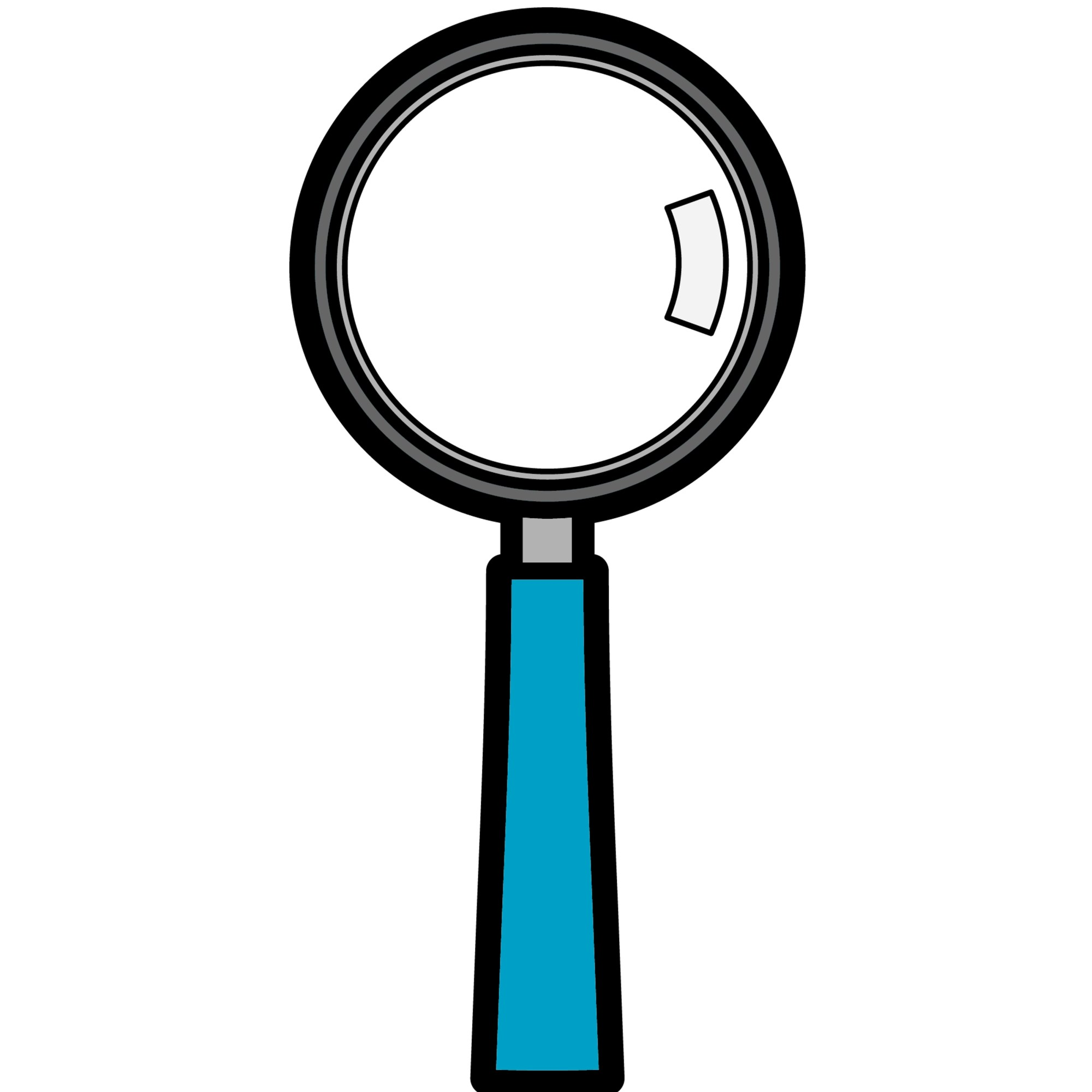 hight resolution of magnifying glass clipart free download