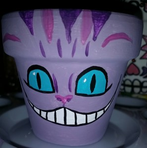 Cheshire Cat mini pot