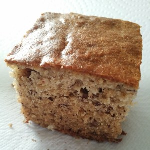 Homemade banana bread.