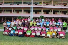 ภาพรวมของนักเรียนที่ได้รับรางวัล