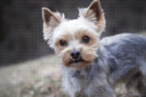 スクリーンの角度のチャンネルをすべて45の同じにした画像