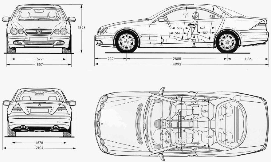 SEC/CL/S-Class Coupe