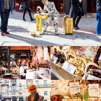 Ensalada caliente de portobellos y quinua   Y un paseo por Madrid