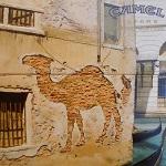 Dobles imágenes: Agrupación: Publicidad Camel: Pared ladrillos
