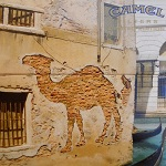 Double images: Group: Advertising Camel: Brick Wall