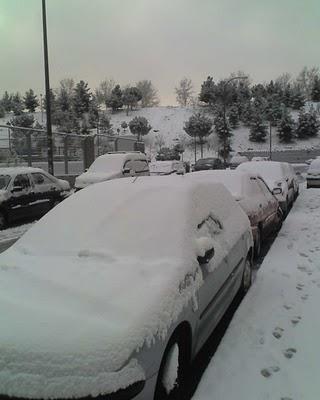Madrid nevado 6