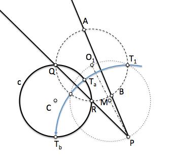 Resolución del problema fundamental de tangencias