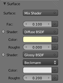 Mix - Shaders seleccionados