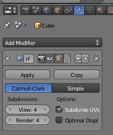 Modificador de subdivisión