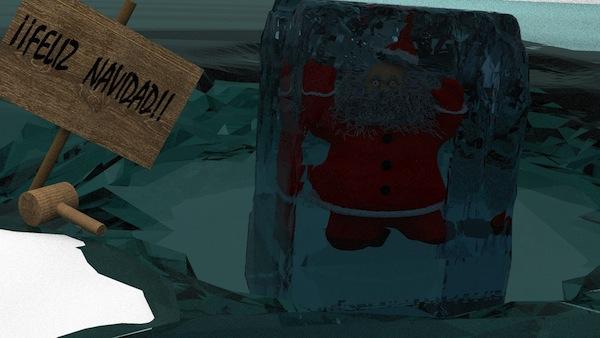 Postal Navidad Rubén Jail
