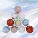 Árbol de navidad con esferas