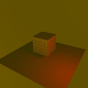 Modifying reddish light points