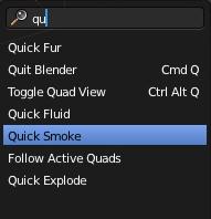 quick smoke