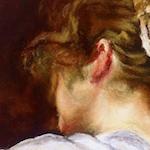 Pintura con Pastel: María Jesús Casati: La hilandera de Velazquez