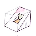 Una pieza curiosa de dibujo técnico [Solución]