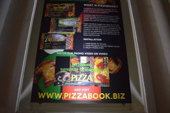 Unlike Exhibition 2016 in France - Pizzabook by Carrie Gates