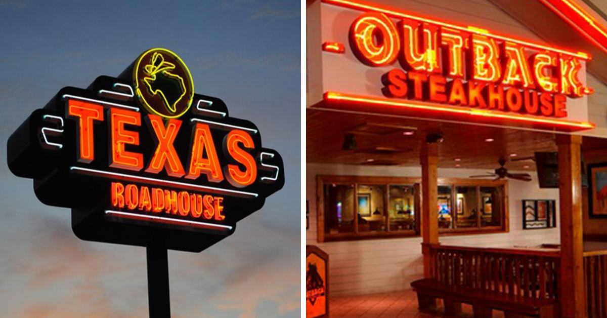 texas roadhouse and outback