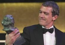 Antonio Banderas recoge el Goya Honorífico