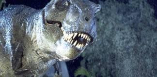 """El Tyrannosaurus rex de """"Jurassic World"""""""