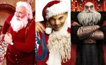 Ranking con los mejores Santa Claus en el cine
