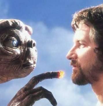 E.T. fue la película que consagró definitivamente a Steven Spielberg