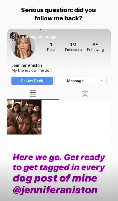 Reencuentro Friends 2019 - El emotivo mensaje de Jennifer Aniston a Instagram