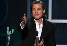 Discurso de Brad Pitt y reencuentro con Jennifer Aniston