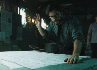 Álvaro Morte (El Profesor) en La Casa de Papel