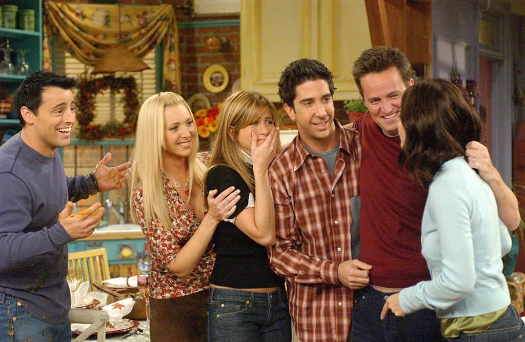 Los actores de Friends dan la bienvenida a Matthew Perry a Instagram