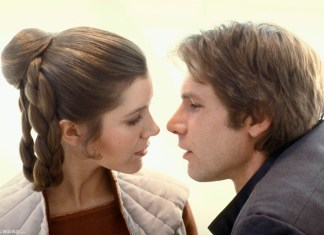 Harrison Ford y Carrie Fisher fueron pareja