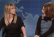 Jennifer Aniston Vs Rachel Green 'SNL'