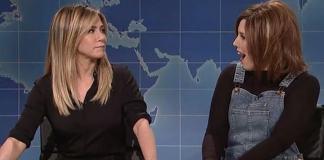 Jennifer Aniston Vs Rachel Green 'SNL'