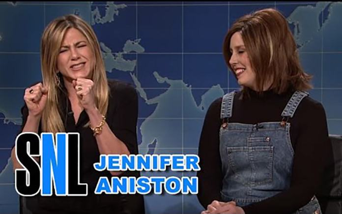 Jennifer Aniston Vs Rachel Green de 'Friends' en 'SNL'