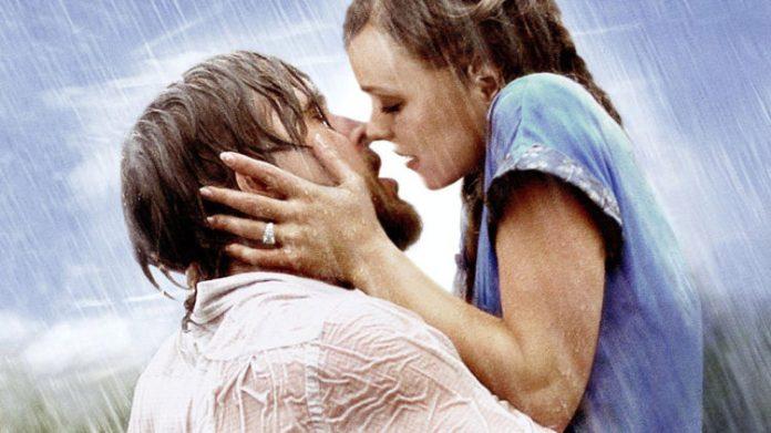 Los mejores besos de película