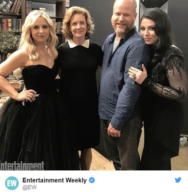 Reencuentro Buffy - Los actores de Buffy Cazavampiros se reúnen