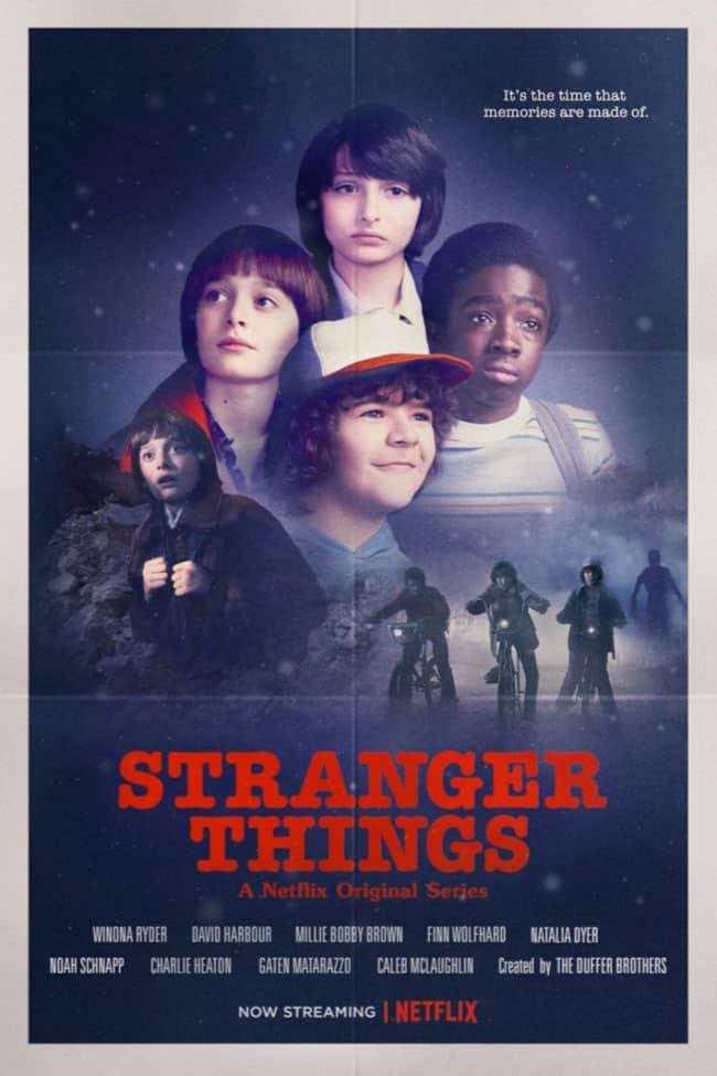 Strangert things 2 Pósters películas terror de los ochenta 1