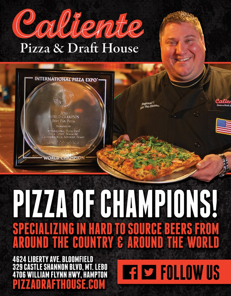 Caliente Pizza & Draft House Pizza of Champions