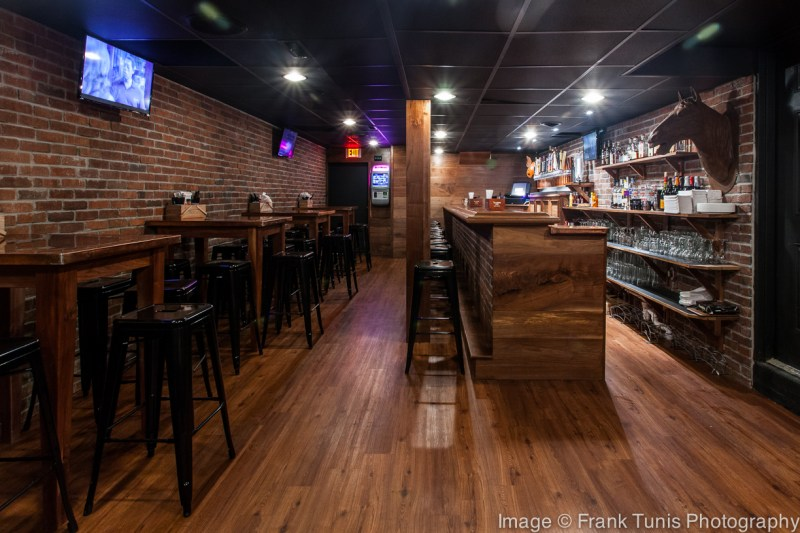 Caliente Pizza & Draft House Bloomfield lower room