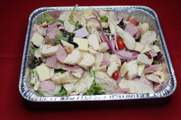 Chicken Cordon Bleu Salad