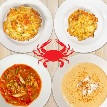 Homemade Crab Cakes & Crab Soup