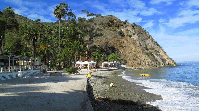 Descanso Beach, north of Avalon.