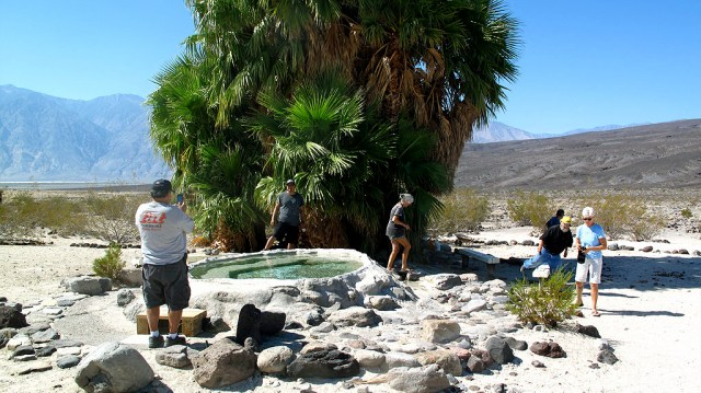 We checked out the lower Warm Springs.