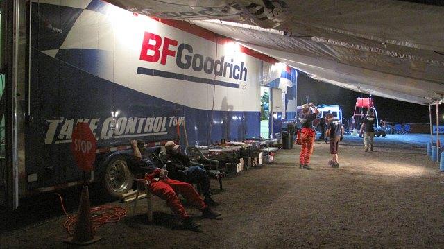Waiting and waiting at the BFG pits at La Purisima.