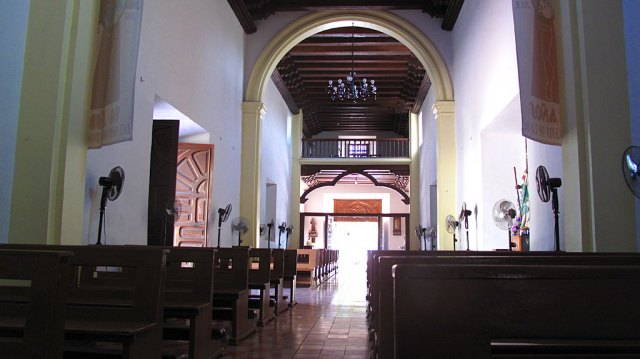 The Mission is still a working Catholic church.