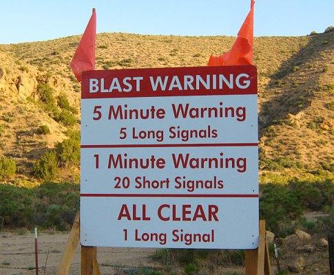 Blast Warning