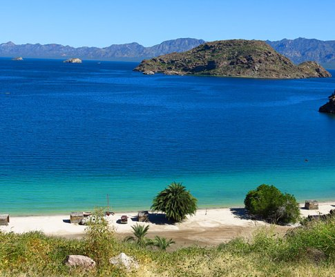Mexico Highways 5 and 1 to Loreto