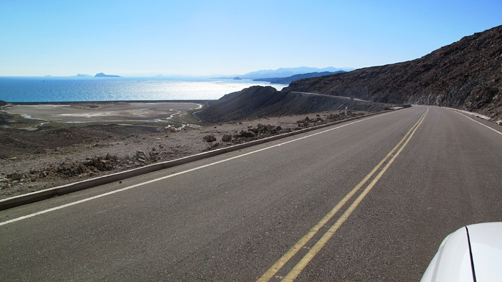 Highway 5 near El Huerfanito, Baja California.