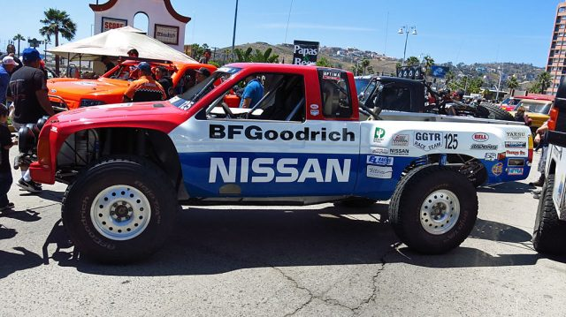 Michael Power drove the #125 1991 Nissan T Mag, racing in the Historic Truck and Truggy class, which is defined as 20 years or older.
